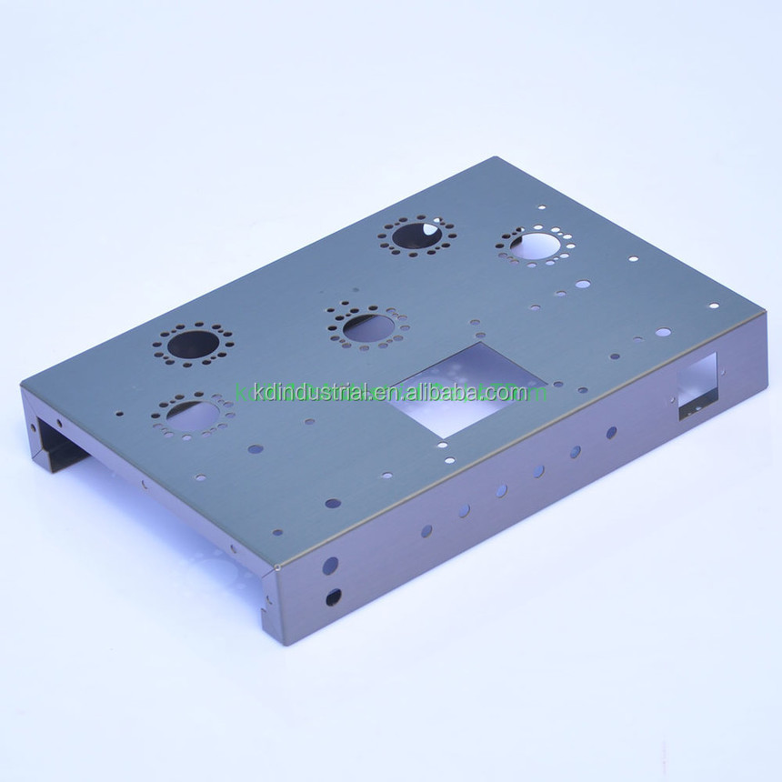 CNC Punching OEM EL34 tube amplifier chassis for radio parts