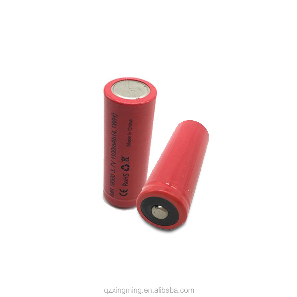 IMR 18500 3.7V 1100mAh(4.1WH) Li-ion Battery fast track battery rechargeable Battery