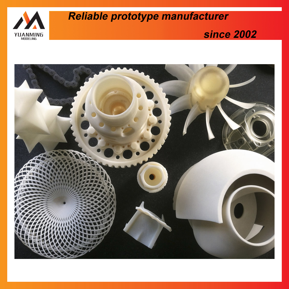 sls 3d prototyping plastic products mould custom plastic moulding