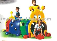2013 hot sale indoor playground kids plastic tunnel toys LT-0131B