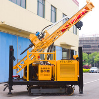 Small efficient water well machine type drill rig, Model No. YSL-200, made in China