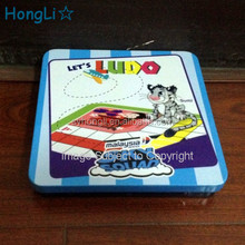 Metal Tin Toys Box /Ludo Plaything Package Box