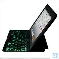 1600mAh battery bluetooth keyboard case for ipad 2/3/4 P-iPAD234CASE092
