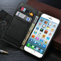 2016 iCase Book Stylish Wallet Case for iPhone 6s, for iPhone 6 Leather Phone Case, Stand Cell Phone Case for iPhone 6s