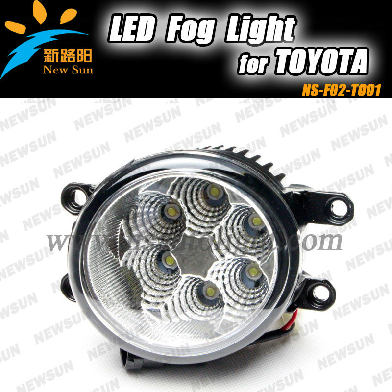 High Bright Waterproof IP67 Auto LED DRL Fog Light for Camry for Corolla for Prius for Yaris, for REIZ(2011~), for WISH
