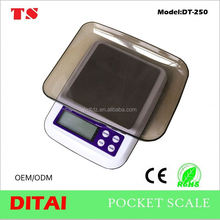 New design pocket scale micro weight sensor with cover tray