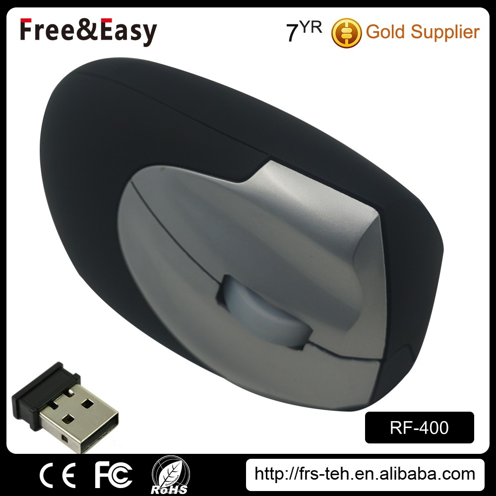 Hot selling oem brand supplier 2.4 g wireless vertical ergonomic mouse