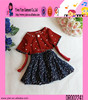 2015 Factory Direct Polka Dot Children Smoking Dress Boutique Shop New Fashion Beautiful Baby Girl Dress