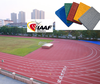 Huadongtrack Professional Manufacturer, IAAF Prefabricated Synthetic Athletic Running Track Flooring 400 Meter Standard Field