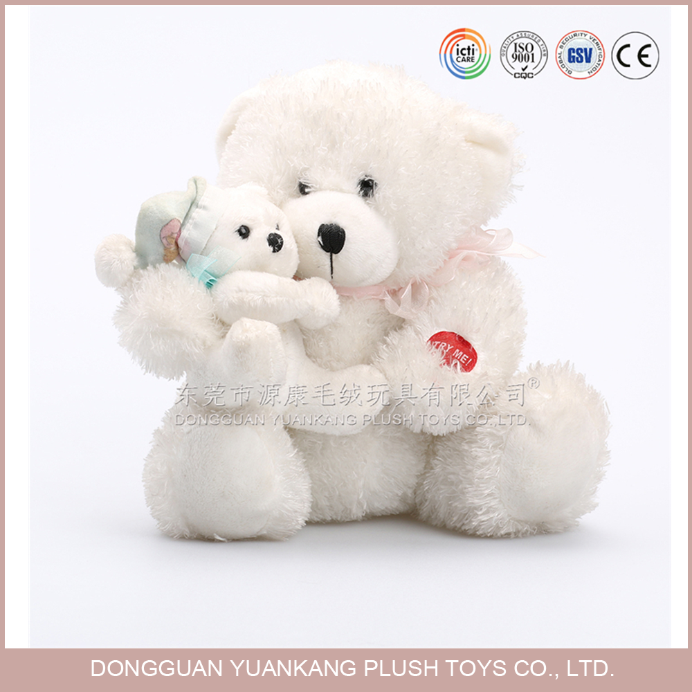 Plush Big Toy Bear Hug a Lovely Baby Stuffed Teddy for Mother day gift