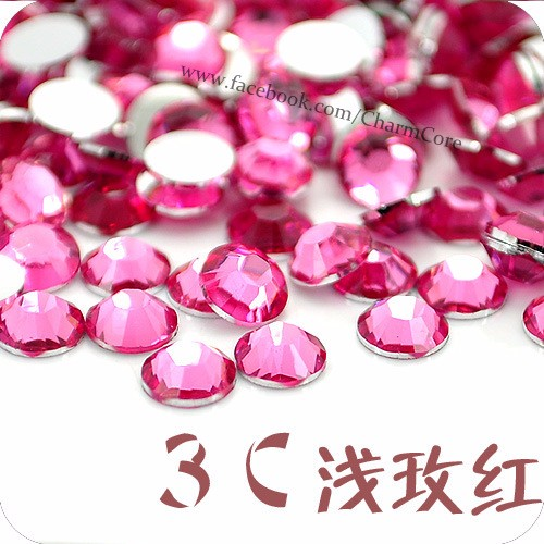 Manufacturer Supply 20mm FlatBack Resin Rhinestone For 3D Nail Art Decoration Beauty
