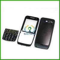 Black Full Housing Cover + Keypad for Nokia E52 Mobile Phone Repair Parts