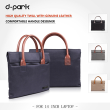 Fashion Business briefcase laptop/notebook bags for MacBook Air 14 inch laptop handbag sleeves cases