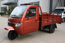 Chongqing 250cc water cooled hydraulic tricycle adult dumper tricycle for cargo