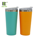 16oz High Quality Custom Stainless Steel Insulated Beer Pint Glass For Camping Outdoors