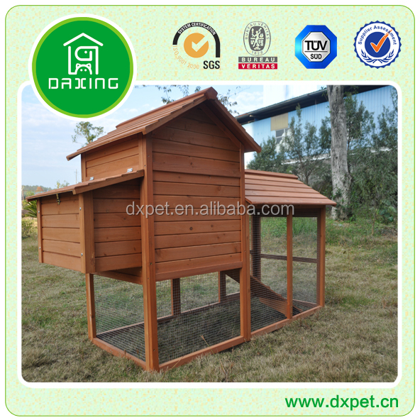 TUV FSC certificated high temperature drying large cheap wooden chicken coop