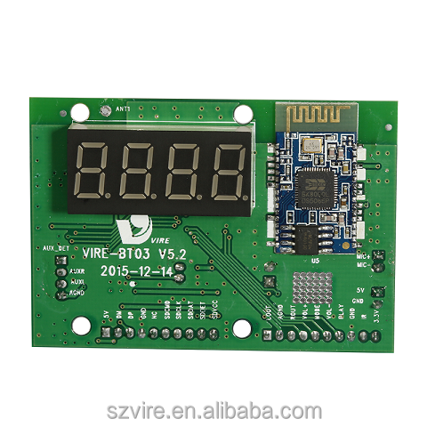 bluetooth fm module usb sd card mp3 dab radio player circuit board module