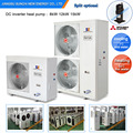 CE,TUV,Australia,certificate home using 220V 3kw,5kw,7kw,9kw Max 60deg.C outlet,high COP4.28 portable heat pump tankless heater
