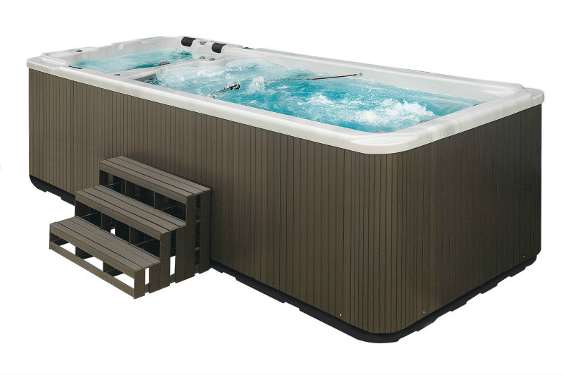 Hot Sale Freestanding Acrylic Large Whirlpool Massage Outdoor Swimming Pool Hot Tub Combo Buy