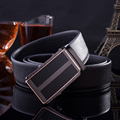Men's Belts Automatic Buckle Belt Business Genuine Leather Waistband Waist Strap
