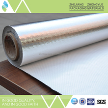 Wholesale single side light reflection aluminum foil woven fabric cheap heat insulation material