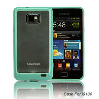 Creative design color bumper case for samsung galaxy s2