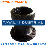 TAWIL ISO2531/EN545 Push on joint ductile iron fitting flange socket pipe