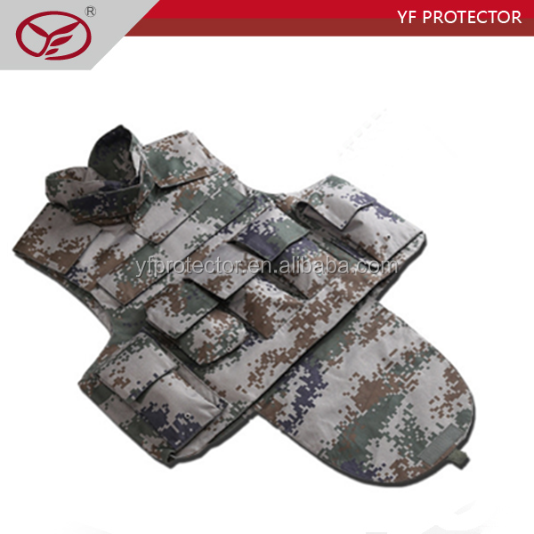military bulletproof armor/kevlar tactical bulletproof jacket/camo full protection bulletproof vest