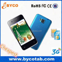 Very small Android 4.4 Dual sim 2 cameras low price china mobile phone