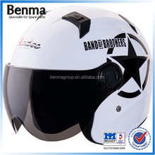 Smooth suface motorcycle/scooter helmets,unique design scooter helmets