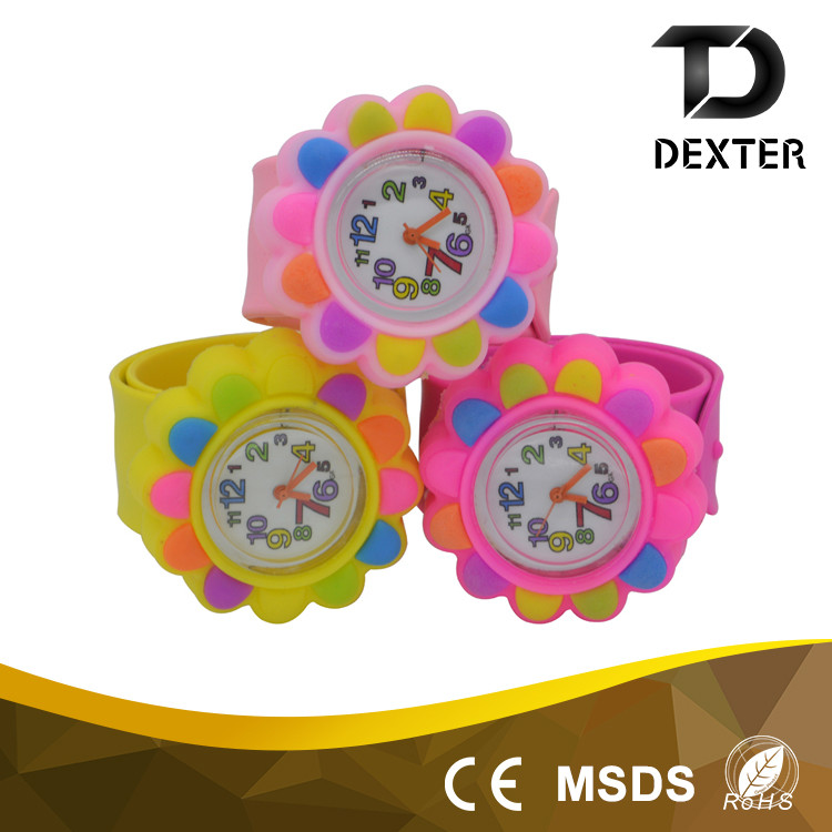 Chinese wholesaler OEM factory silicone strap children wrist watch