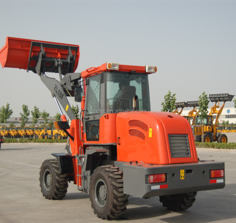 European market hot sale Changhui ZL18 used skid steer loader
