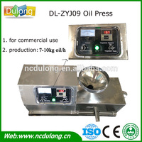 Production 7-10kg oil/hour grape seed oil extraction machine DL-ZYJ09