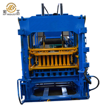 cement bricks raw material and interlock block making machine type concrete block making machine