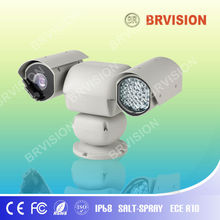 high popular PTZ camera with digital monitor for police vehicle