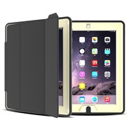 Kids Proof Leather Tablet Bumper for iPad 2 Protective Tablet Case