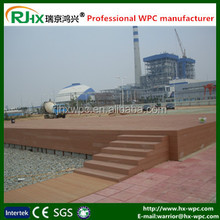 Wood-plastic composite for marine deck flooring in high quality and good price
