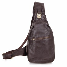 2467Q JMD Genuine Leather Chest Bag Small Backpack For Men's Sling Bag