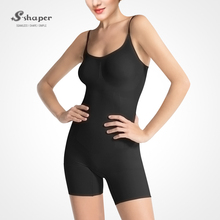 S-SHAPER OEM Seamless Women Bodysuit Firm Compression Slimming Vest Fir Slim Body Shaper