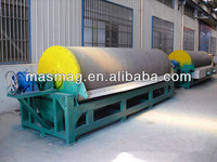 Steel Slag River Iron Sand Wet Drum Magnetic Iron Sand Separator