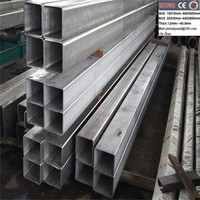 Titanium alloy square tube