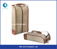 High Grade Canvas Golf Shoes Bag For Foreign Trade Wholesale Made Custom Bags