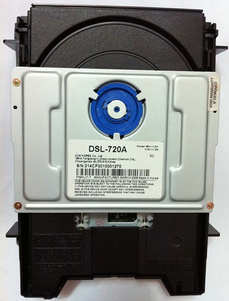 DSL-720A made in Korea DVD driver DSL-720A DSL720A for MERIDI 808 G08 596 G07 588 driver