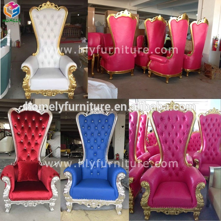 Manufacturers Luxury Royal popular American king throne chair HY-K178