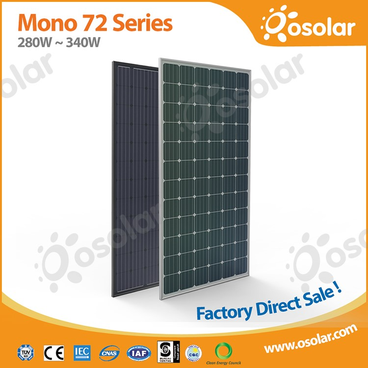 Factory direct sale cheap Grade A monocrystalline solar panels for home system | monocrystalline