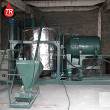 Used Vechiles Oil /Motor Oil Recycling Plant, waste engine oil refinery machine