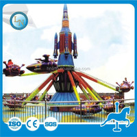 Hot amusement park self-control rotating plane game electric airplane ride for children