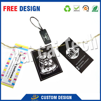 Low price fashional high quality modern design custom printed paper hang tags