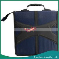 Stylish 320 Pcs CD Holder Bags DVD Storage Bag Holder Blue