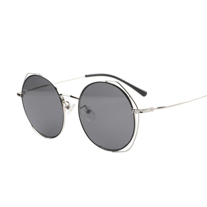 MS006 trendy designer wire metal ladies glasses womens sunglasses
